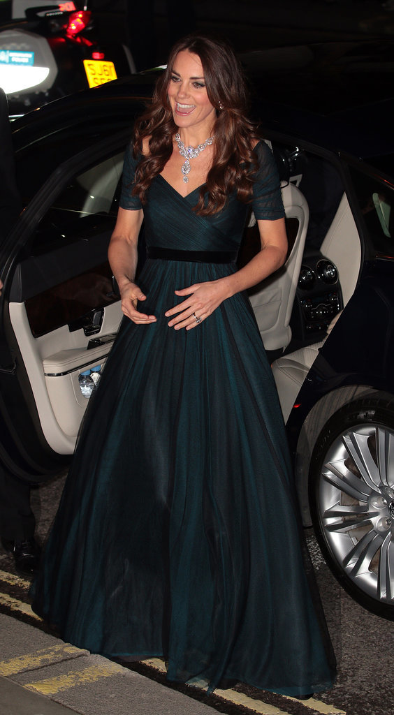 A Lesson in Elegantly Exiting a Car, by Kate Middleton
