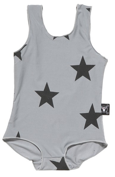 Star Print Swimsuit