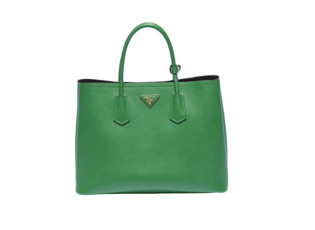 Prada Double Bag in Verde