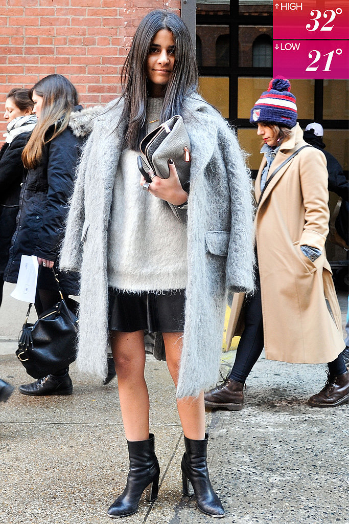 NYFW Day 1; Average: 27°F