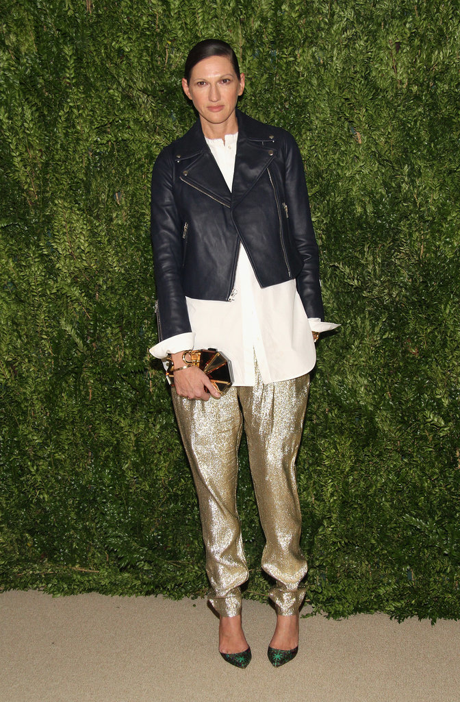 Another-Lyons-favorite-came-out-play-metallic-gold-pants