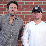 Ben Affleck and Matt Damon Funny Charity Video