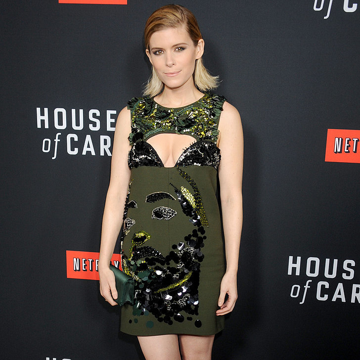 Wait Until You Lock Eyes With the Front of Kate Mara's Dress