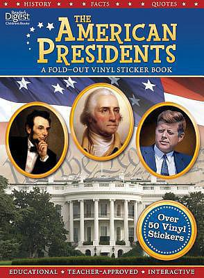American Presidents Fold-Out Sticker Book