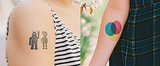 Spaceship, Robot, and Camera Tattoos For the Noncommittal Geek