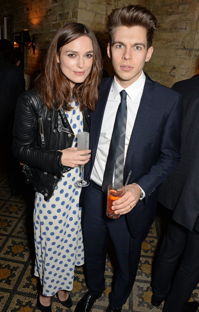 Keira Knightley and James Righton attended the bash.