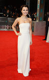 Samantha Barks at the 2014 BAFTA Awards.
