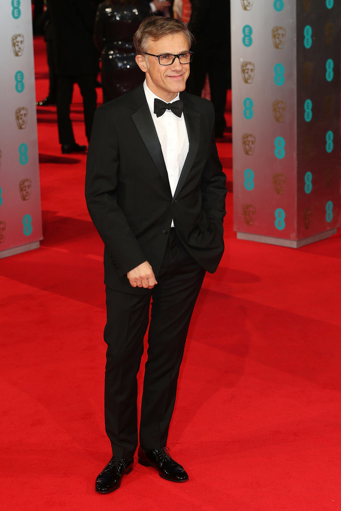 Christoph Waltz at the 2014 BAFTA Awards.