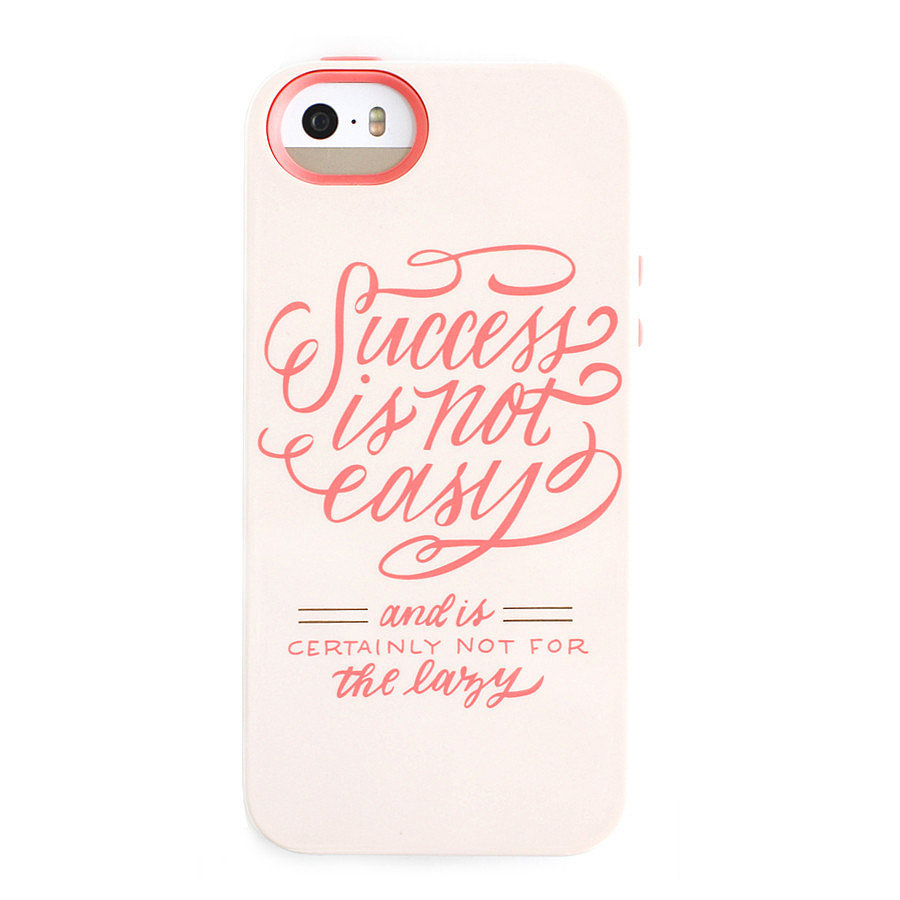Success Is Not Easy iPhone 5/5S Case ($34)