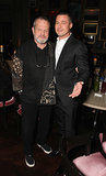 Brad mingled with Terry Gilliam at the E One party.