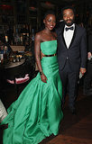Lupita and Chiwetel Ejiofor attended E One and Grey Goose's fete.