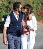 Eva Longoria Packs on the Weekend PDA