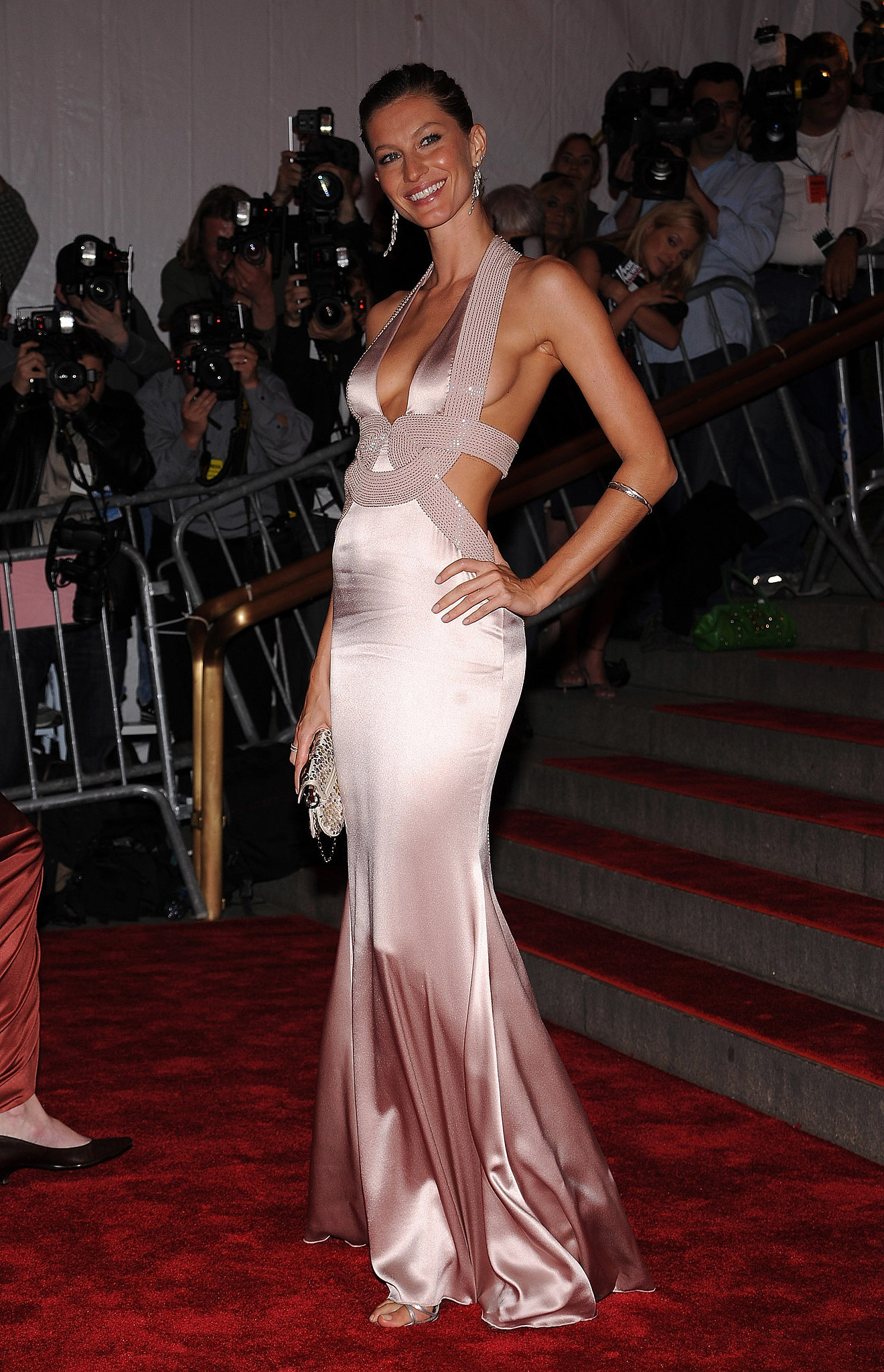 Gisele Bündchen in Versace at the Met Gala