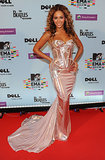 Beyoncé in Versace at the MTV Europe Music Awards