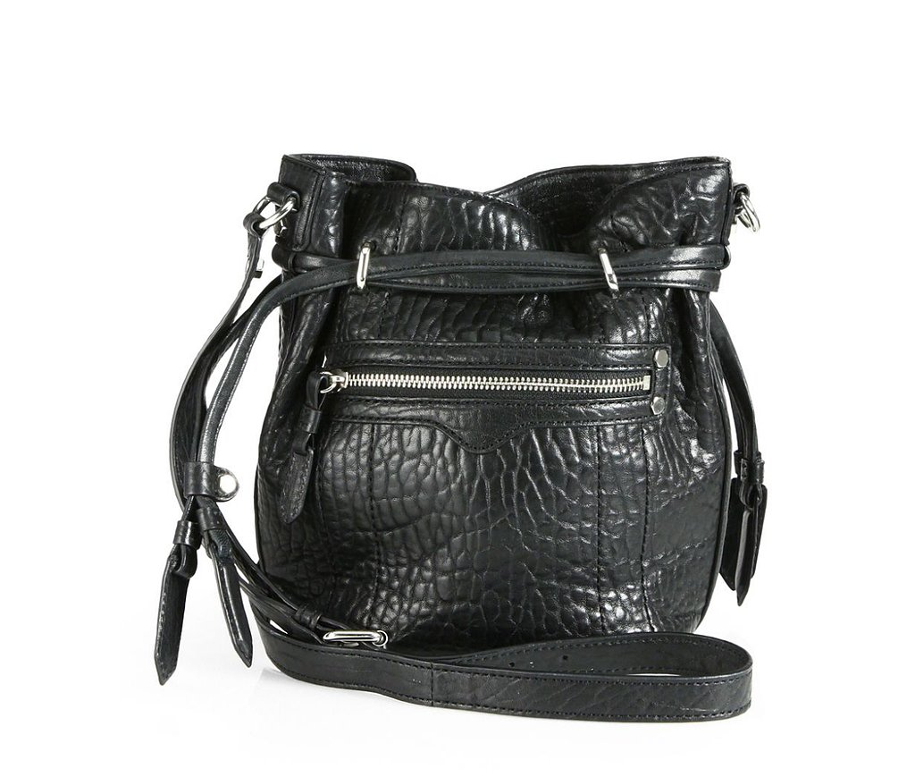 Rebecca Minkoff Mini Harley Black Bucket Bag