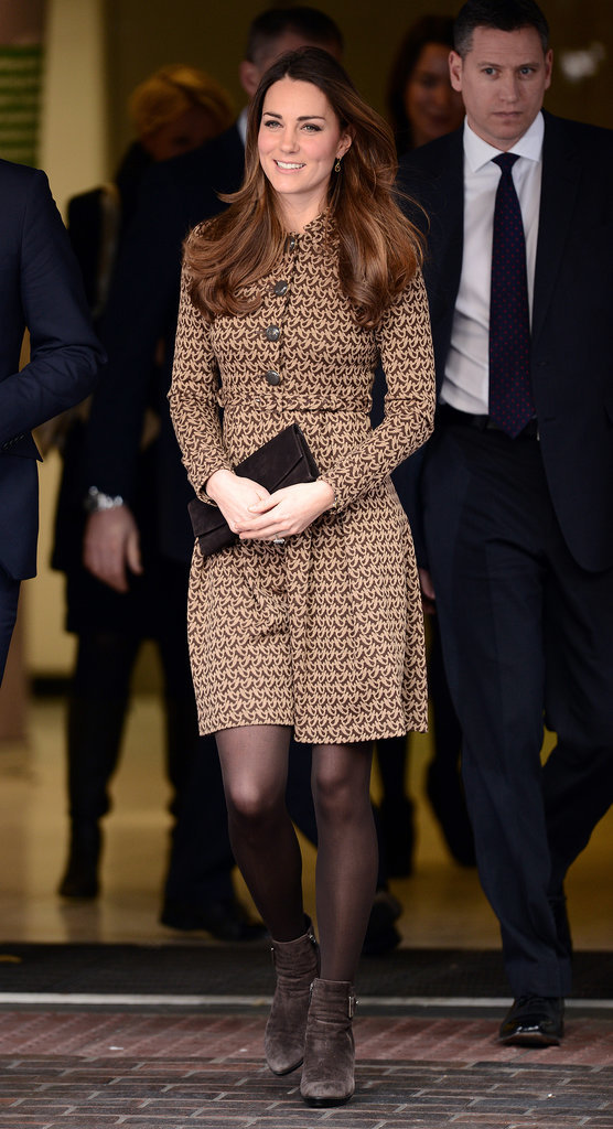 Kate Middleton in an Orla Kiely Dress