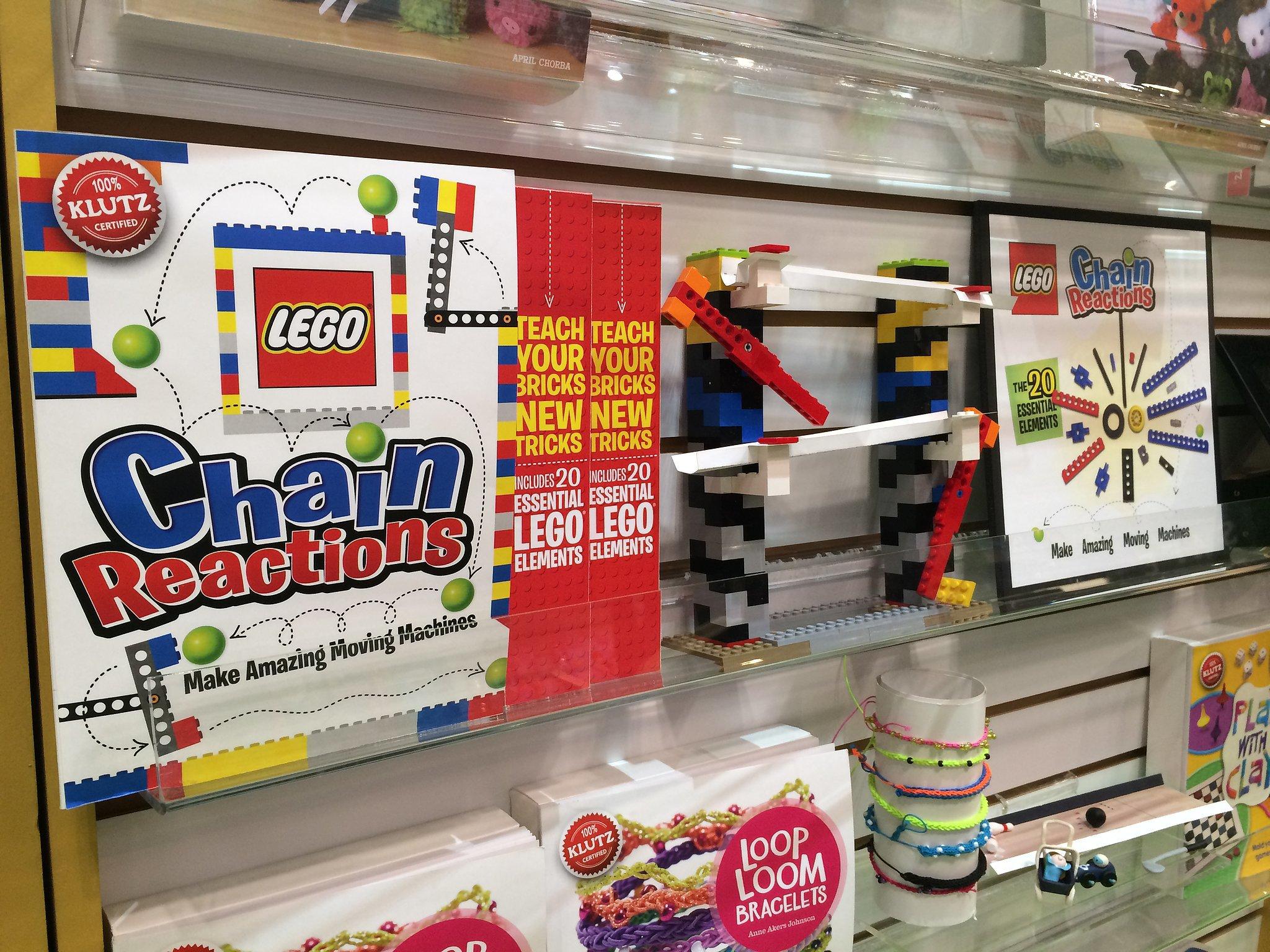 Klutz Lego Chain Reaction