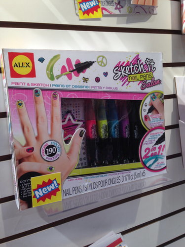 Alex Sketch It Nail Pens