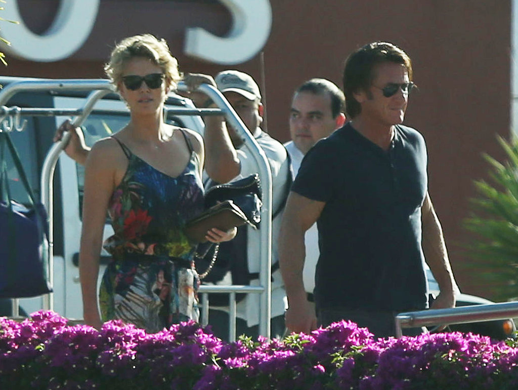 Charlize and Sean Escape to Cabo For a Romantic Weekend