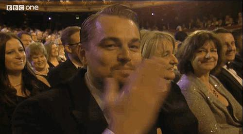26. Leo Blows a Kiss at the BAFTAs