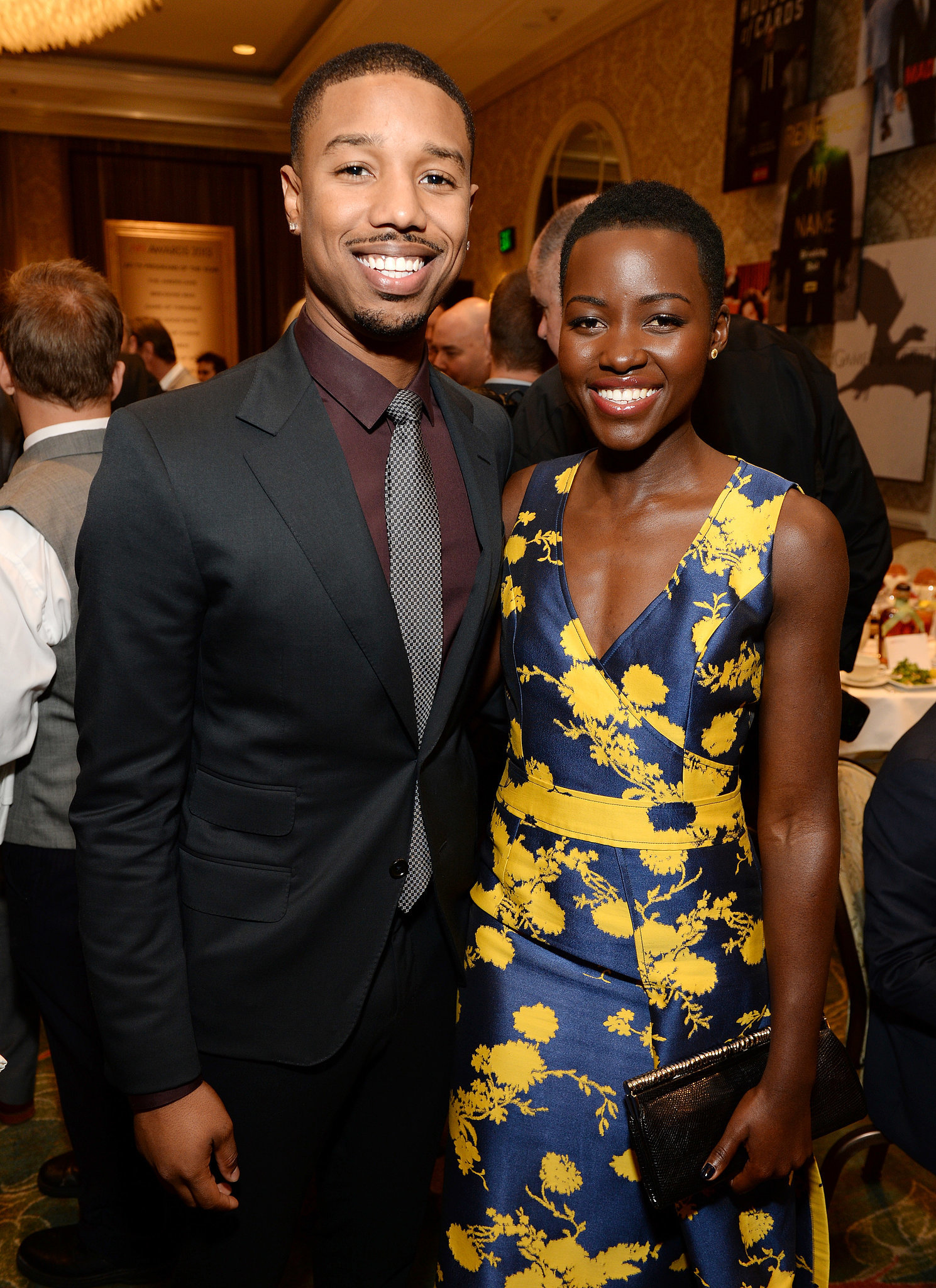 She hung out with Michael B. Jordan at the AFI Awards Luncheon.