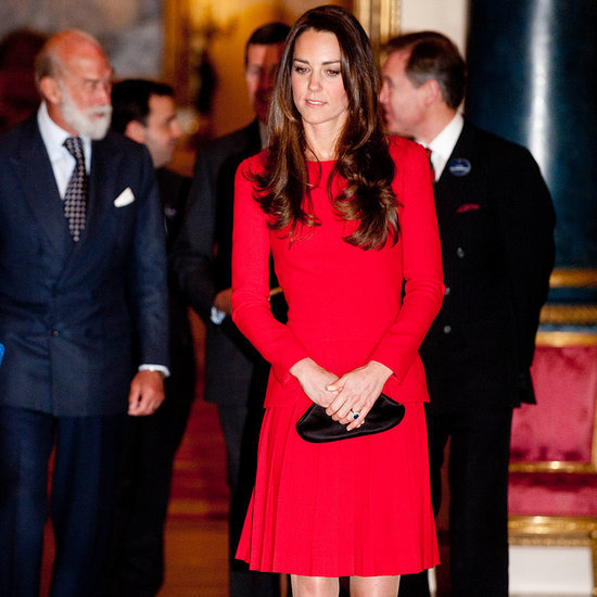 Kate Middleton Wearing Alexander McQueen