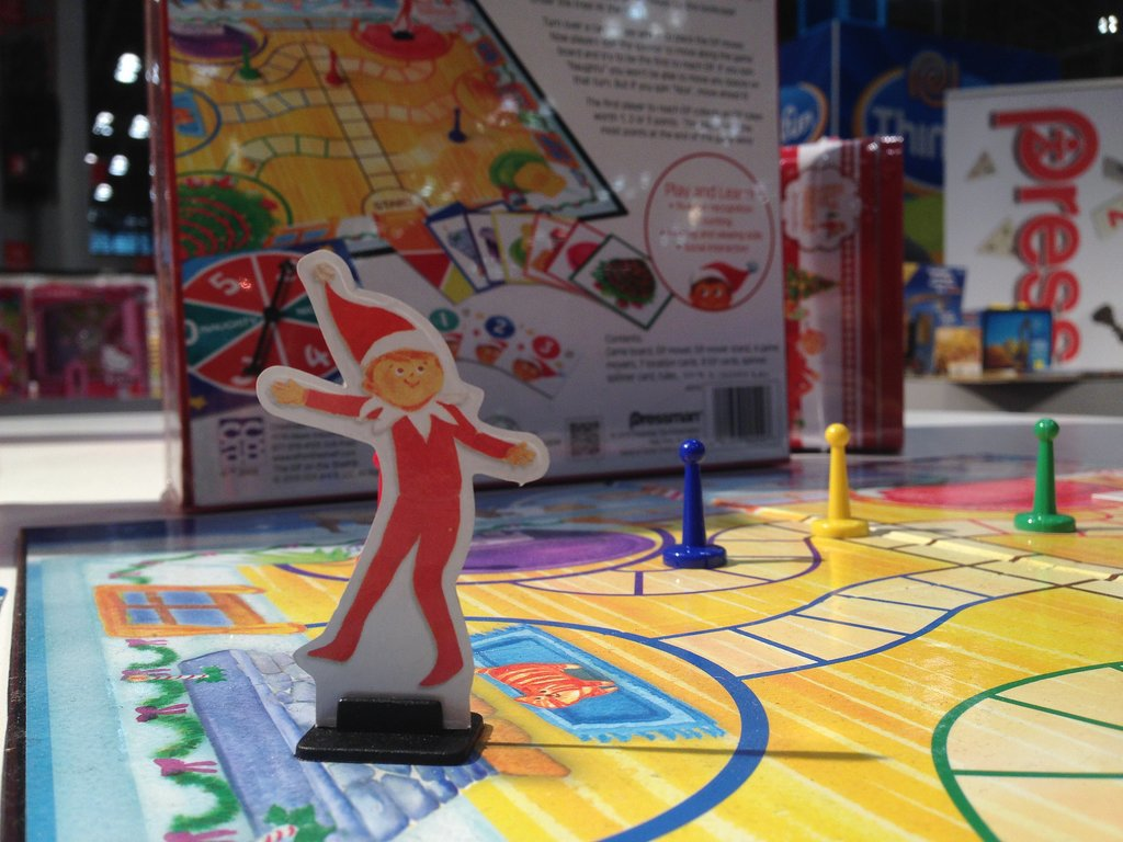 Elf on the Shelf: The Board Game