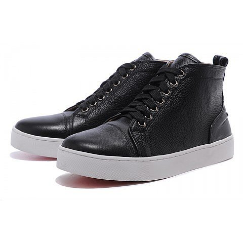 Christian Louboutin Louis Mens Sneakers Black
