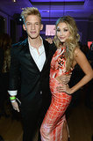 Singer Cody Simpson and his model girlfriend, Gigi Hadid, looked glam.