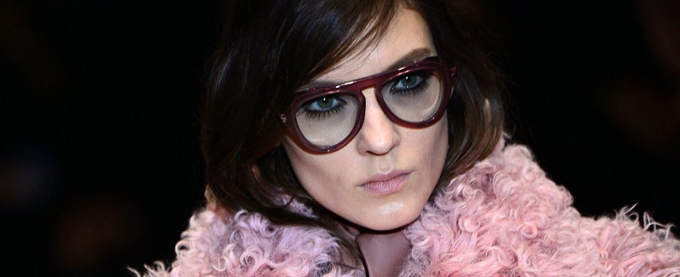 Lower Lashes Take Center Stage at Gucci Fall 2014