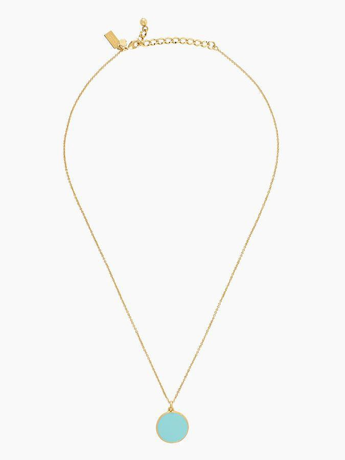 "Kate Spade ""Something Blue"" Idiom Necklace"