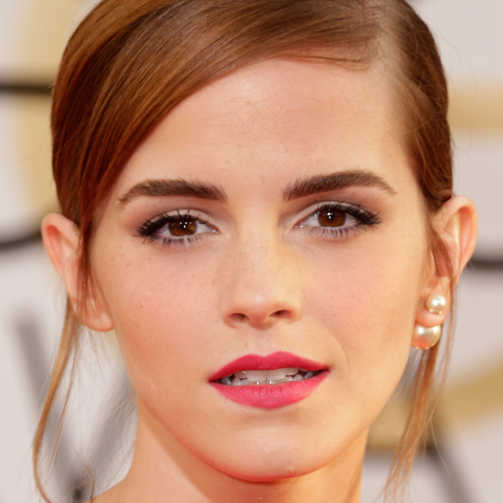 Emma Watson Golden Globes Makeup : Video : POPSUGAR Beauty