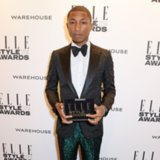 Pharrell's Metallic Pants Elle Style Awards | Video