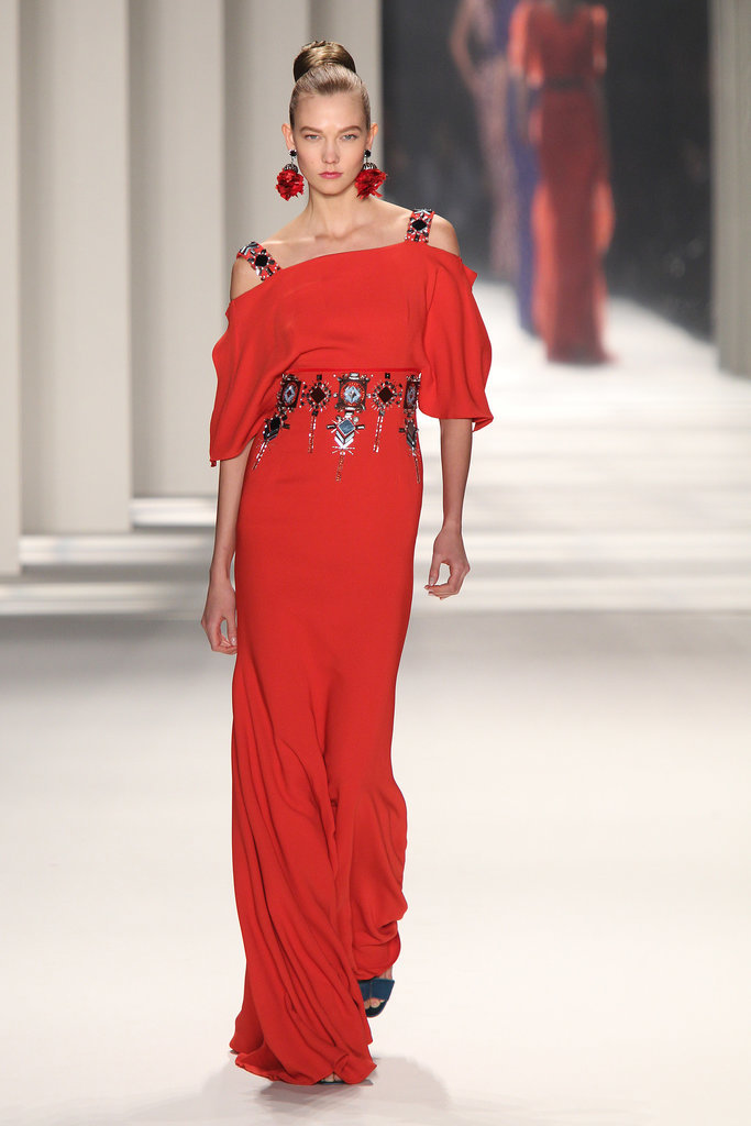 Amy Adams: Carolina Herrera Autumn/Winter 2014