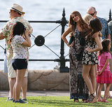 Ariel Winter took a photo of Sophia Vergara and Sarah Hyland on Feb. 20.