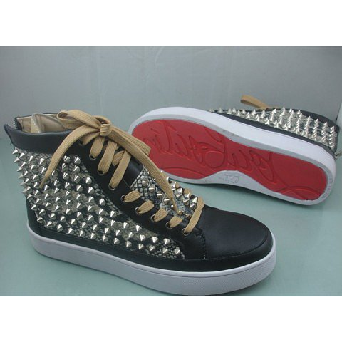 Christian Louboutin Studded Sneakers Mens
