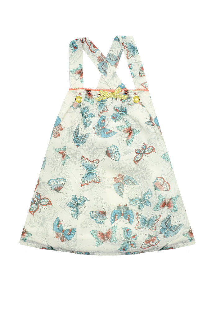 Butterfly-Printed Dress