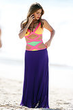 Sofia Vergara chatted on the phone at Bondi Beach on Feb. 21.