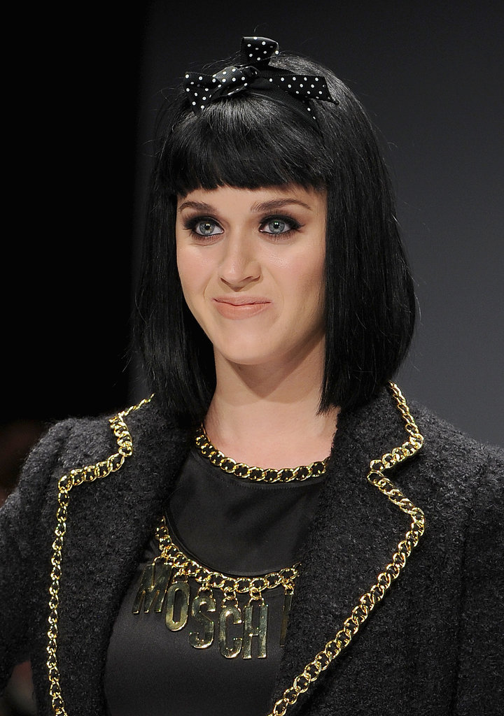Katy Perry at Moschino