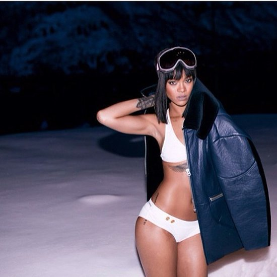 Sexy Instagram Pictures Rihanna Bikini At Birthday Party