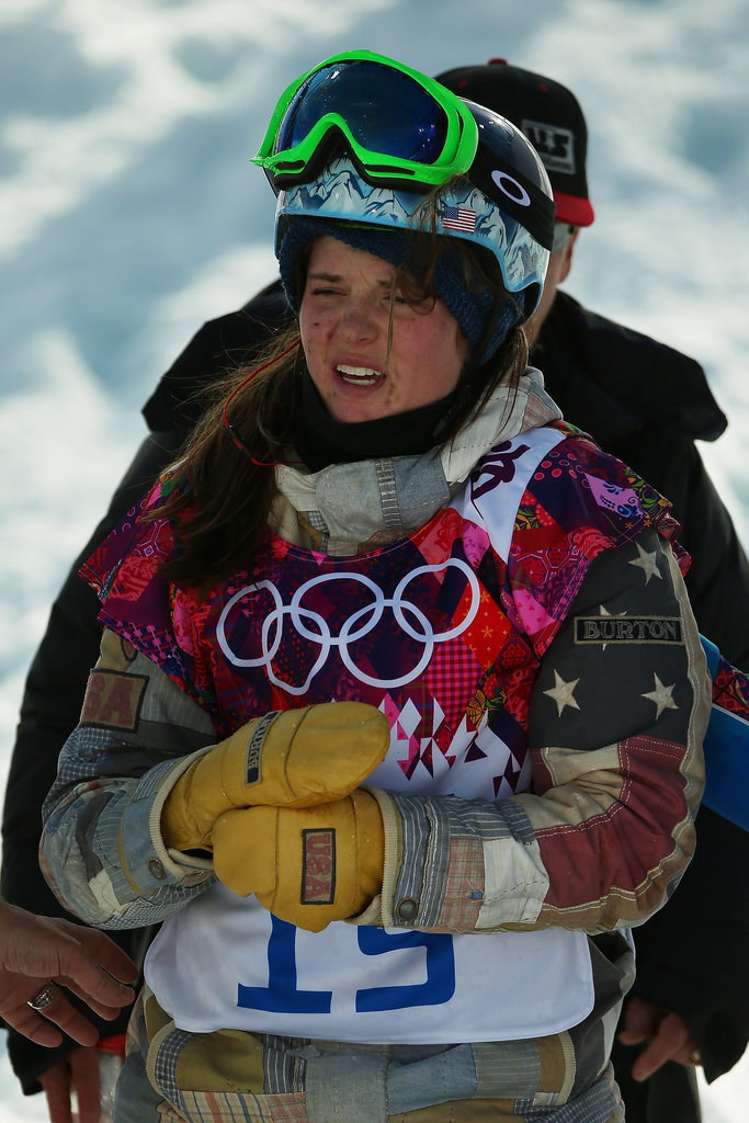 Arielle Gold Forced to Pull Out of Half-Pipe