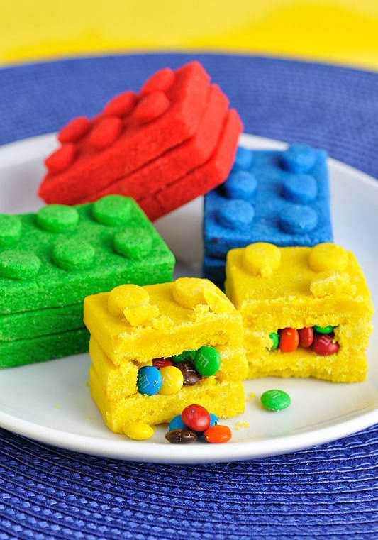 Lego Piñata Cookies