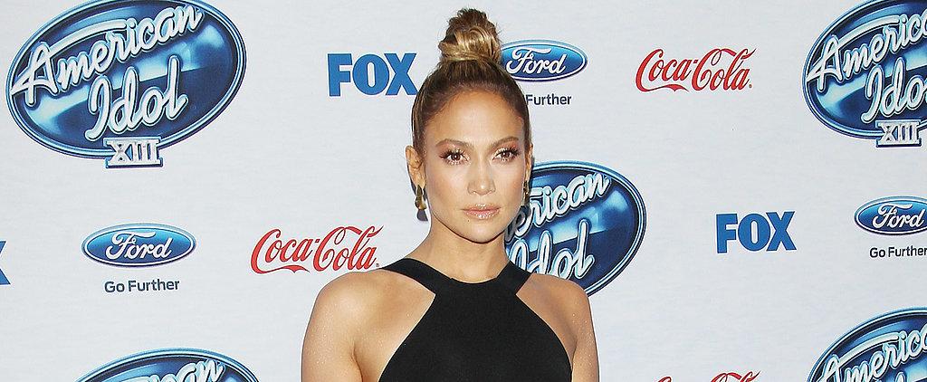 See Jennifer Lopez's Superhot LBD!
