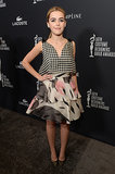 Kiernan Shipka showed off her mature taste.