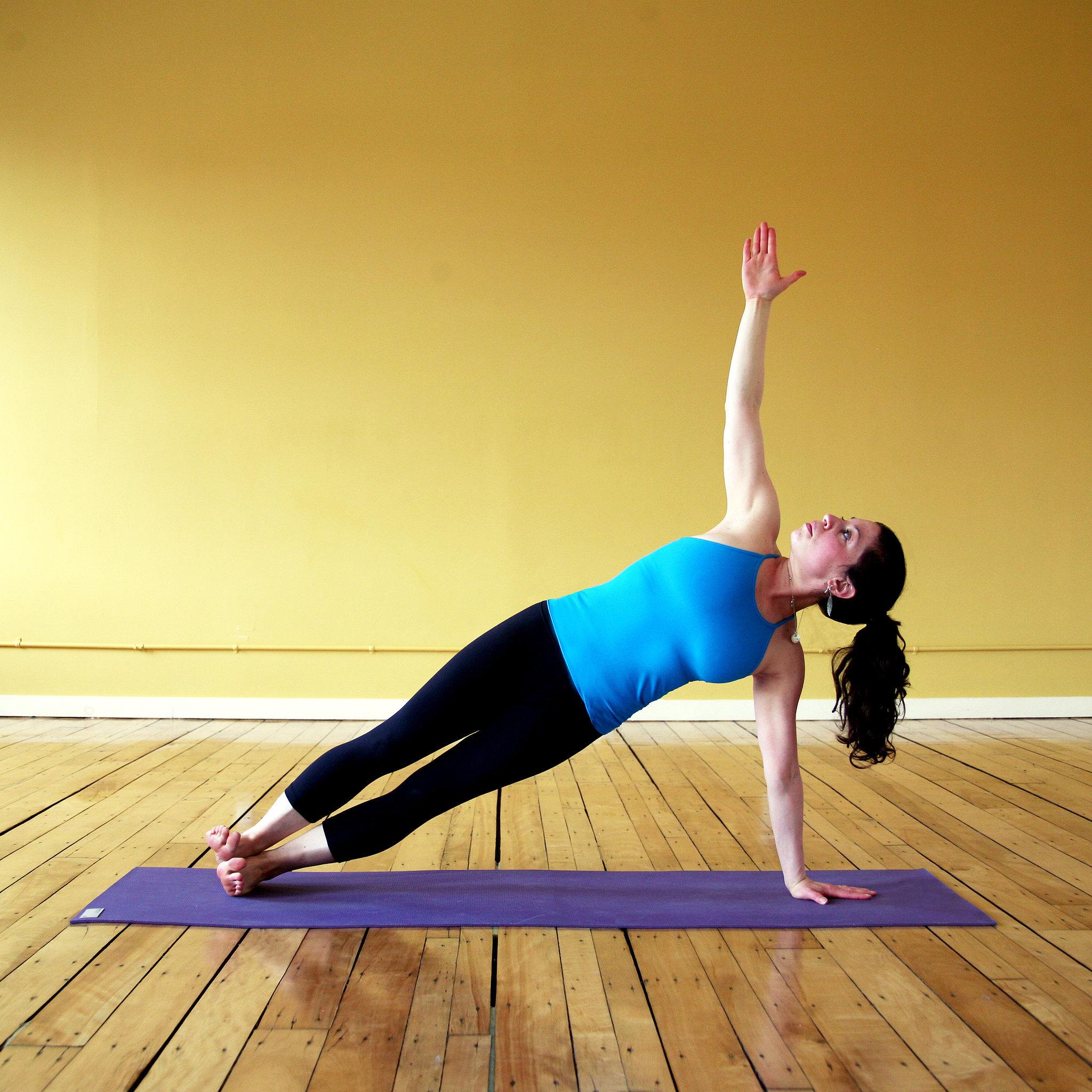 Side Plank Pose | POPSUGAR Fitness