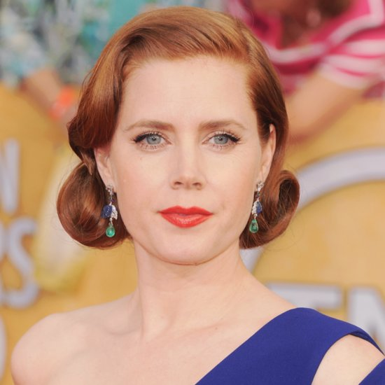Amy Adams Red Carpet Hair and Makeup Pictures