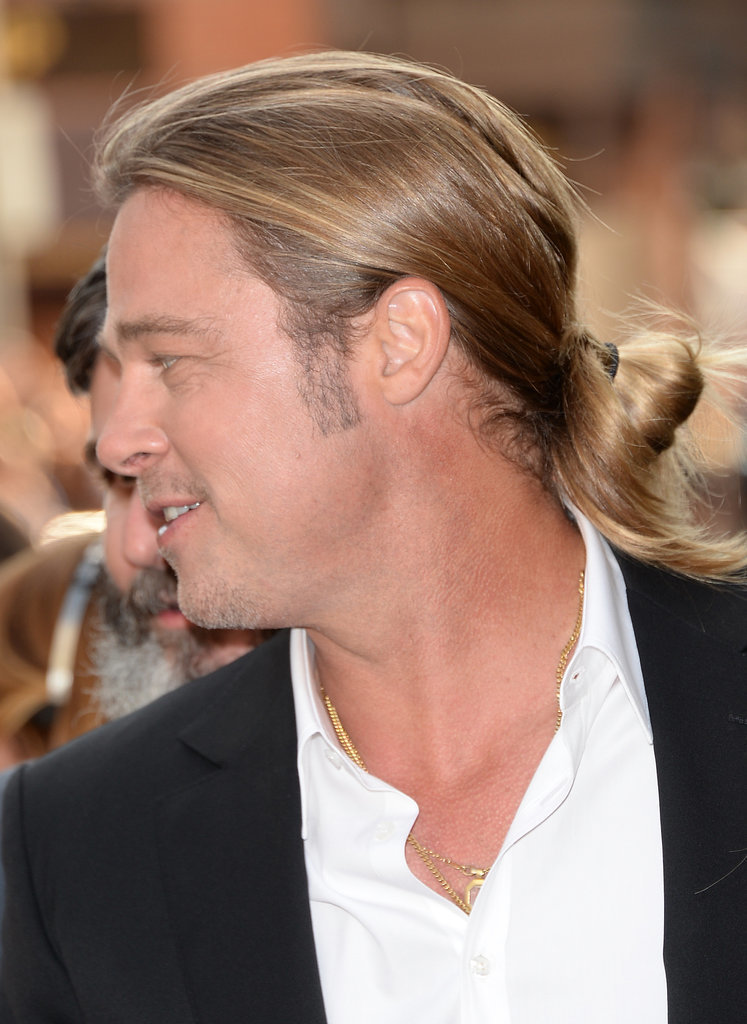 September 2013: The Red Carpet Man Bun