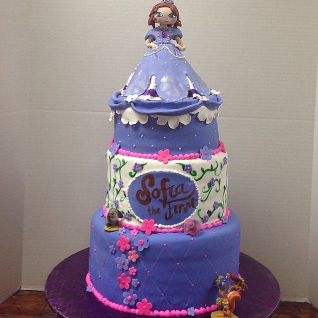 Sofia the First Princess Cake