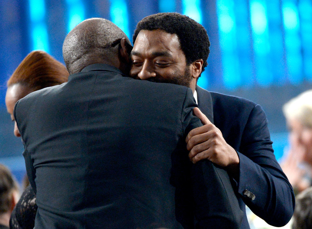 Steve McQueen and Chiwetel Ejiofor Also Embraced at the SAGs