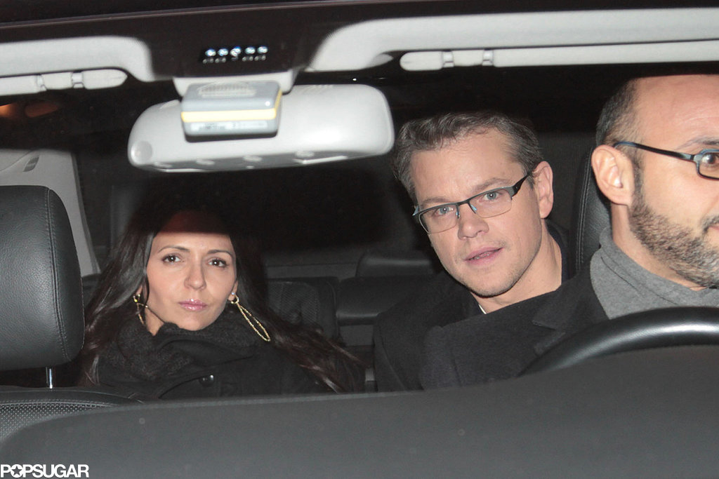 Matt Damon Photos